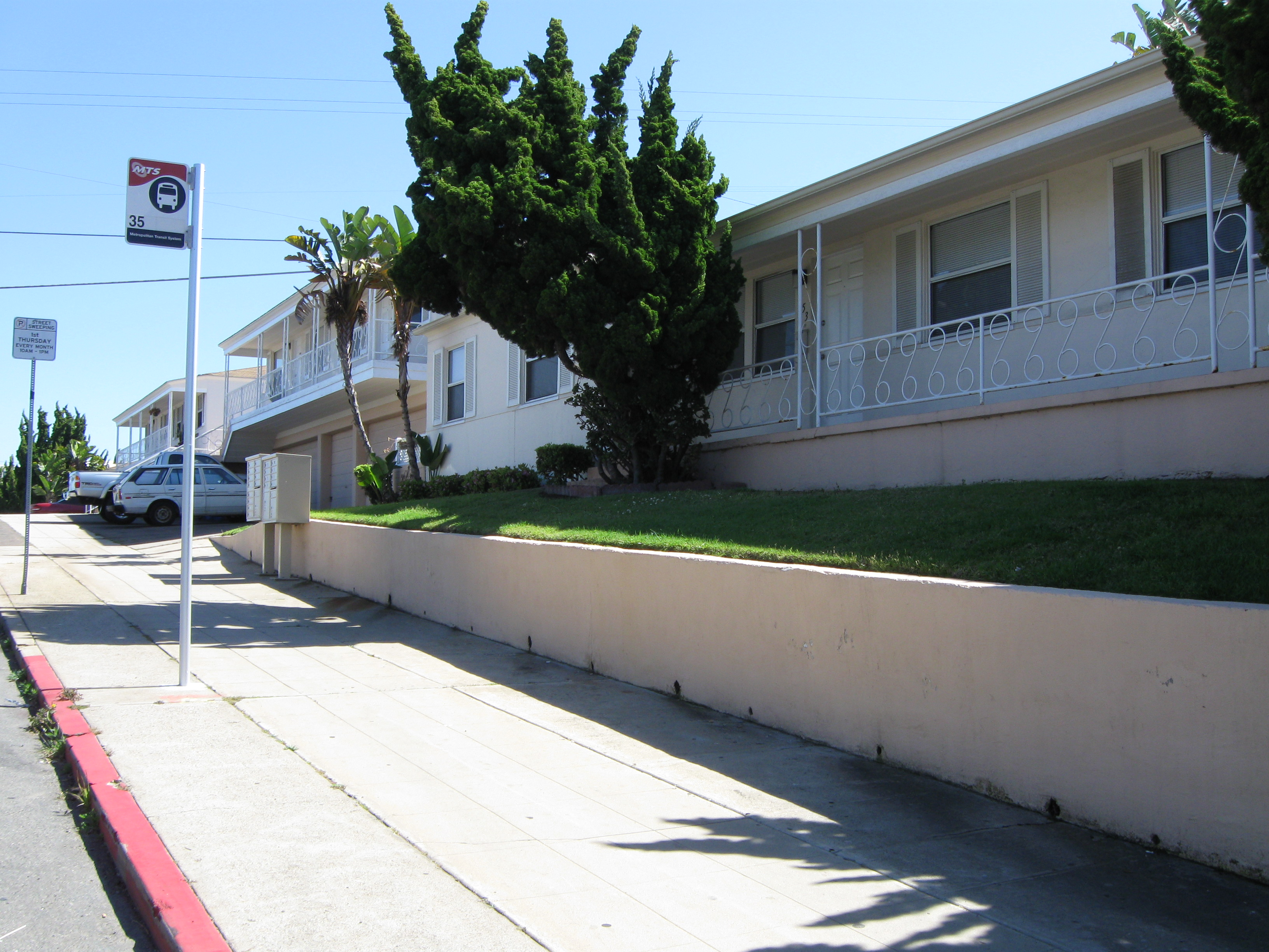 Crestview Terrace Apartments Ocean Beach Ca